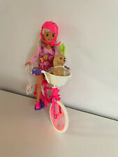1996 Bicyclin Stacie & Puppy With Bicycle - Adult Collection - Original Clothes