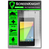 ScreenKnight Asus Google Nexus 7 2nd 2 II Gen SCREEN PROTECTOR invisible shield