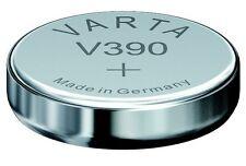 1 PILE MONTRE V390 SR54 VARTA  1.55 V PROFESSIONNEL LIVRAISON RAPIDE VALID 2018