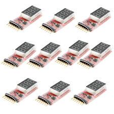 10PCS RC Model 2S-6S Detect Lipo Battery Voltage Indicator Checker Tester Meter