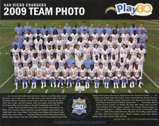 2009 SAN DIEGO CHARGERS NFL FOOTBALL TEAM 8X10 PHOTO