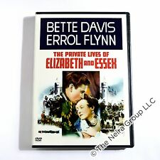 The Private Lives of Elizabeth & Essex DVD New Errol Flynn Bette Davis