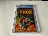 JOURNEY INTO MYSTERY 120 CGC 7.0 THOR AVENGERS ABSORBING MAN MARVEL COMICS 1965
