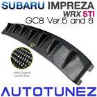 Carbon Fiber Vortex Generator For Subaru Impreza WRX STI GC8 Version 5 & 6 AT