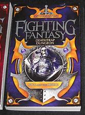 Deathtrap Dungeon Fighting Fantasy gamebook