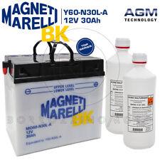 BATTERIA MAGNETI MARELLI Y60-N30L-A 30Ah MOTO GUZZI V35 II 350 1984 1985 1986