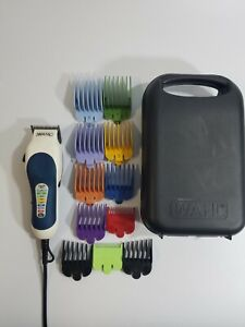 WAHL Precision Hair Clipper and Trimmer Kit w/ Case & 11 Color Coded Guards MC3