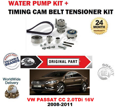 FOR VW PASSAT CC CBAB CFFB CBAA CFFA 2008-2011 TIMING BELT KIT + WATER PUMP SET