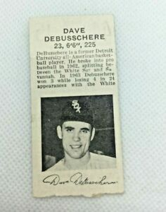 1964 Aug 17: Chicago White Sox v Yankees F. Robinson Photo Ticket Wilhelm SV22