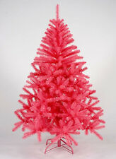 9 Foot Queen Spruce PINK Artificial Christmas Tree – Unlit