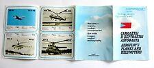Rare Soviet Russian Advertising brochure booklet AEROFLOT airplane USSR 1980-