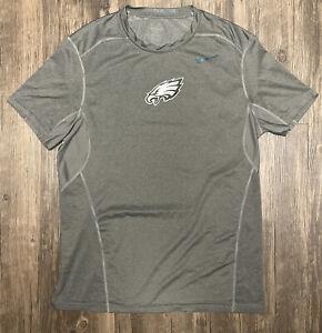 Philadelphia Eagles Nike Hypercool Dri Fit NFL Football Large Compression Shirt