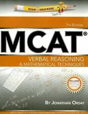 Examkrackers MCAT Verbal Reasoning & Mathematical Techniques-ExLibrary