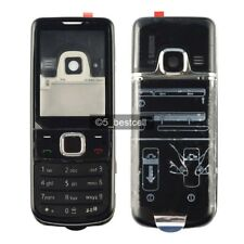 New Black Metal Housing Cover Case For Nokia 6700 Classic 6700C + Keypad