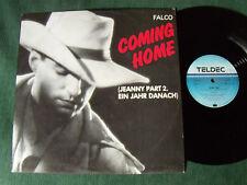 "FALCO : Coming home / crime time  12"" MAXI 45T 1986 German TELDEC 6.20670 AE"
