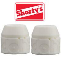 SHORTY'S DOH DOH'S Skateboard WHITE TRUCK BUSHINGS 98A dohs for 2 trucks