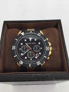 Michael Kors Two Tone Chronograph Wrist Watch