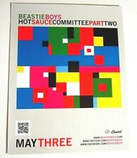 Beastie Boys Original Static Cling Sticker Hot Sauce Committee Part Two Release
