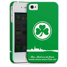 Apple iPhone 4 premium case cover-curso Greuther furth-Trébol