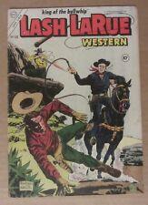 Lash LaRue Western #50 (1954 Charlton) 4.0..Giordano/Alascia cover..Campbell art