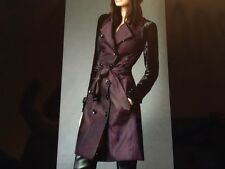 BNWT Burberry London Pony hair Sleeves Cotton trench coat US 4 AUD$2980