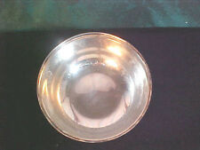 Vintage Wallace Small Round Silverplate Footed Bowl
