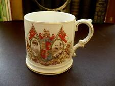 Antique Royalty Memorabilia - Edward VII Coronation 1902 - Decorative Mug