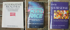 3 books on Psychic Abilities / Sixth Sense