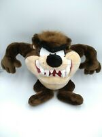 "Vintage 16"" Tazmanian Devil Taz Plush Doll Looney Tunes Toy Warner Bros 1998"