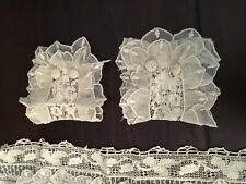 Vintage Victorian Lace Collar and Cuffs RARE