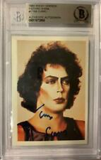Tim Curry Signed 1980 Rocky Horror Picture Show #1 Slabbed Card Bgs Autographed