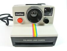 VINTAGE Polaroid SX-70 One Step Rainbow Instant Land Camera Tested Working VGC!!