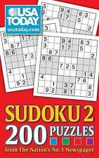 USA Today Puzzles: USA TODAY Sudoku 2 Vol. 2 : 200 Puzzles from the Nation's...