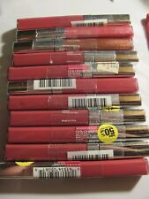 Maybelline ColorSensational Lip Gloss Hooked on Pink Mixed Lot of 11 Please Read