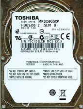 TOSHIBA SATA 500GB MK5059GSXP,  HDD2J53 Z SL01 B