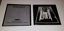 "2) Weezer "" Buddy Holly / Undone The Sweater Song "" Printers Ad Layout Negatives"