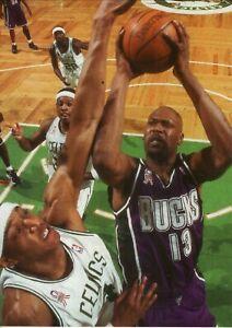 Glenn Robinson--Milwaukee Bucks--Glossy 5X7 Color Photo
