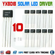 10PCS YX8018 LED Solar Boost Driver IC TO-94 8018 Converter Booster IC USA