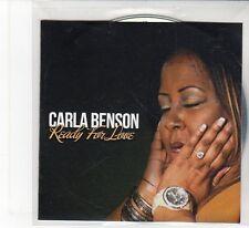(FB800) Carla Benson, Ready For Love - 2014 DJ CD