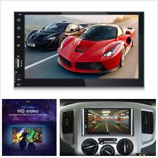 "7"" 2Din HD Touch Screen Car Truck Bluetooth Video Music Player FM Radio AUX USB"