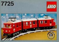 Lego Trains 7725 Electric Passenger Train NEW SEALED 1981' 12V Battery