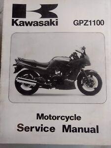 Kawasaki GPZ1100 USED Service Manual 99924-1182-01