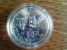 france 10 euros argent 2011 auvergne