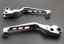 Chrome Skull Brake Clutch Lever for Harley Sportster Softail Fat Boy FXDL FXSTC