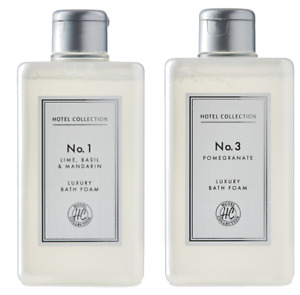 Aldi No.1 Lime, Basil & Mandarin Bath Foam 500ml No 3 Pomegranate 500ml