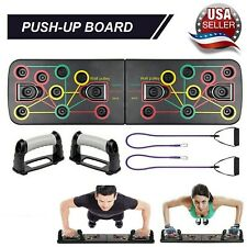 14 in 1 Push Up Board Fitness Exercise Push-up Stands Training Home Gym Equipmen
