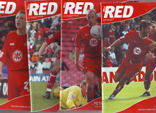 BRISTOL CITY 10 of the BEST! PROGS 2004-6 ALL LISTED VGC