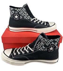 NEW Converse Chuck 70 Hi Gore-Tex Shoes Sneakers Black Egret Mens Size 11.5 NIB
