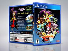 Shantae 1/2 Genie Hero - PS4 - Replacement - Cover/Case - NO Game