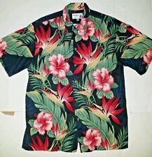 Vintage Iolani Hawaiian Shirt Size Medium Made in Hawaii USA RARE